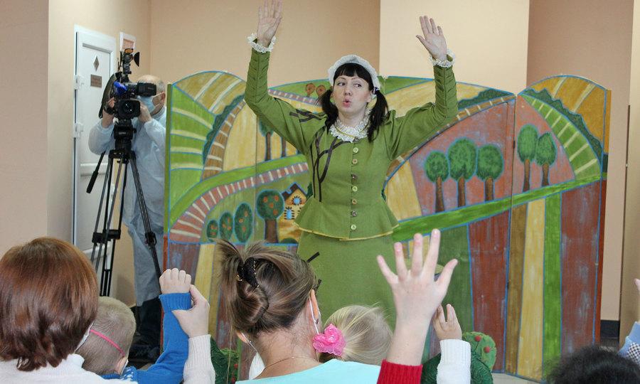 Пациентам Брянского детского онкоцентра подарили праздник