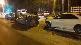 В Брянске пьяный 23-летний парень на «Toyota» устроил крупное ДТП