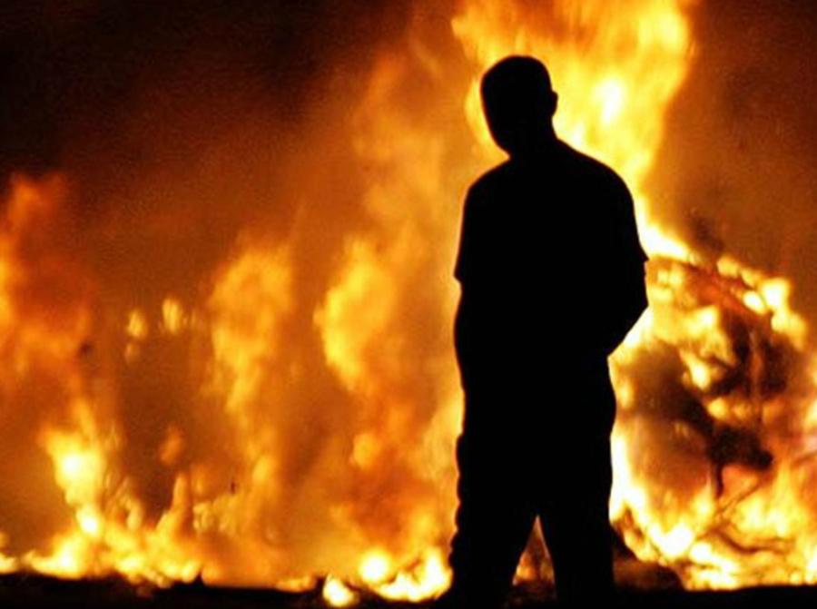Брянец поджог свой дом после ссоры с матерью