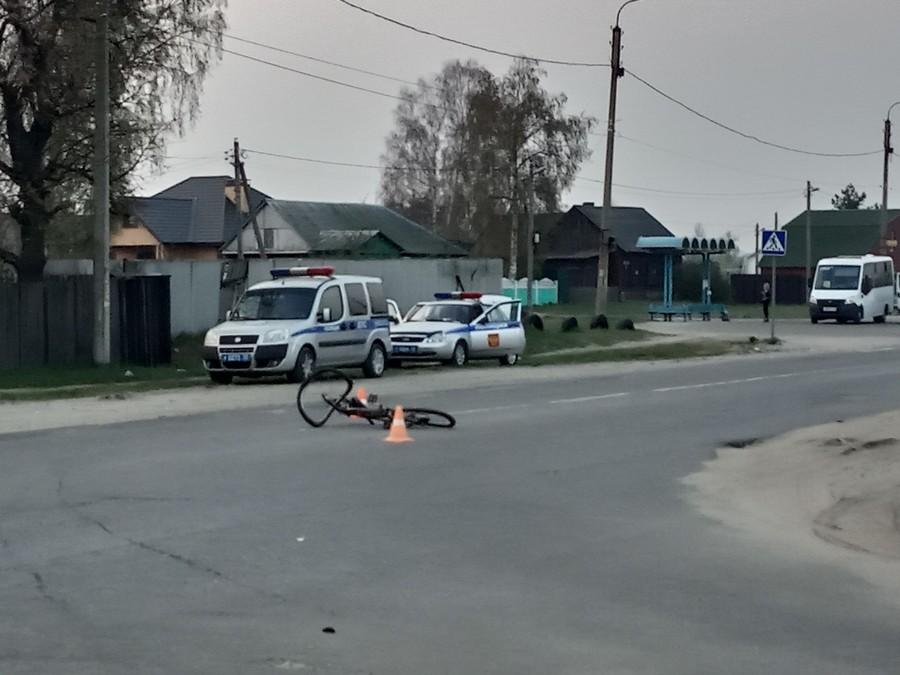 В Брянске на Белорусской автомобиль сбил ребёнка на велосипеде