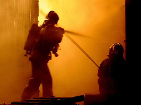 В Почепском районе сгорел частный жилой дом