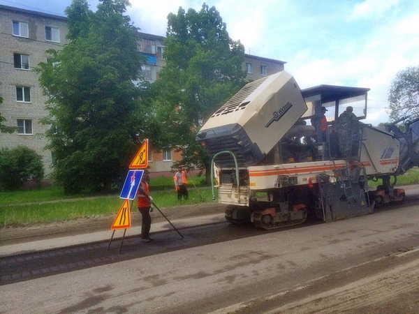 В Брянске ремонтируют дороги на 20 улицах