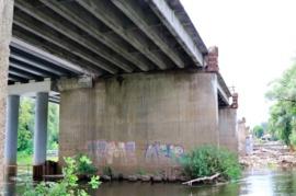 В Брянске на Первомайском мосту осталось убрать 4 пролёта