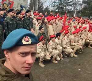 100 школьников Трубчевского района пополнили ряды юнармейцев