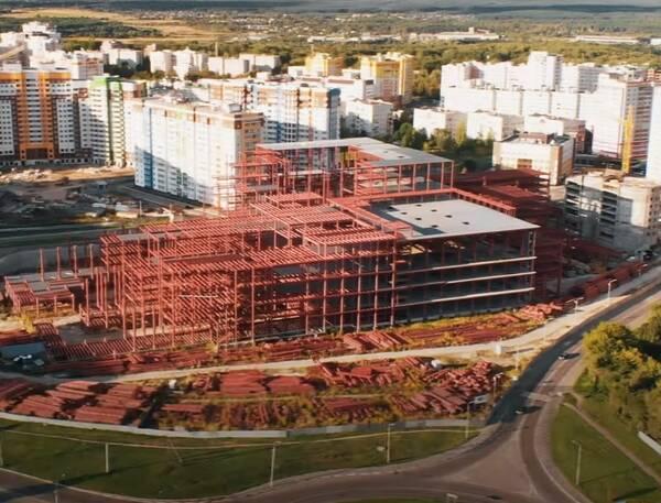 О строительстве ТРЦ «МегаГринн» рассказали брянцам