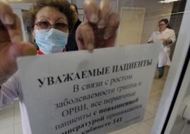 На Брянщине порог заболеваемости по ОРВИ превышен на 3%