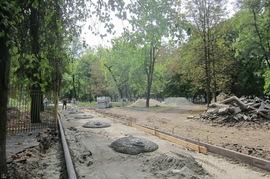 В Брянске у Парка железнодорожников появится новый забор