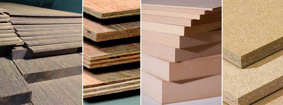 Виды и особенности плитных материалов