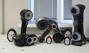 Ручные 3D сканеры - технология, характеристики, применение