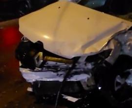 В Брянске такси попало в ДТП у Бежицкого рынка: есть раненые
