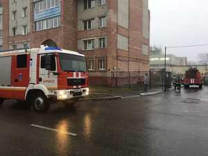 В Брянске на улице Луначарского горела многоэтажка