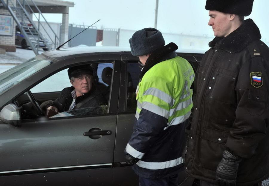 Брянские приставы проведут рейды по взысканию штрафов с водителей
