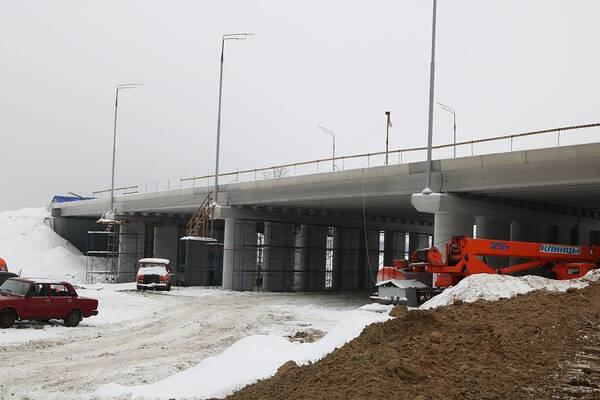 Начали строить вторую дамбу на дороге между Фокинским и Володарским районами Брянска
