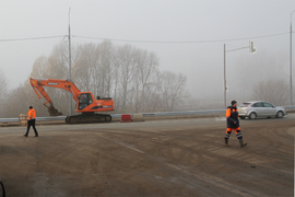 Открытие новой дороги по Романа Брянского перенесли на 10 ноября