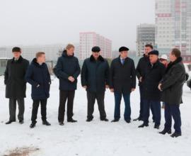 В Брянске новый корпус детсада №155 строят без выходных