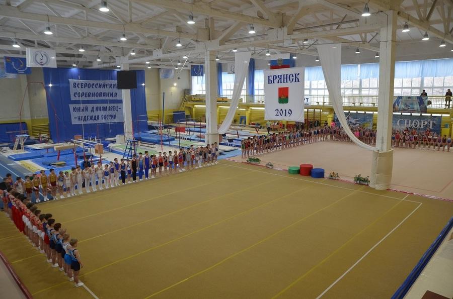 В Брянске стартовали всероссийские соревнования по спортивной гимнастике