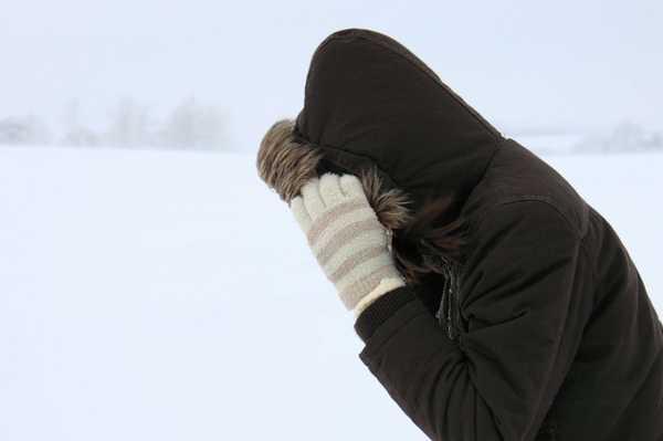 На Брянщине в понедельник обещают сильный ветер и 8 градусов мороза