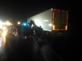 Под Выгоничами фура протаранила грузовик: есть раненые