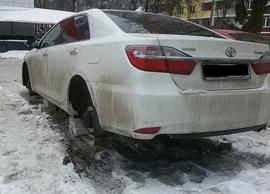 Опубликовано видео работы банды автоворов в Брянске