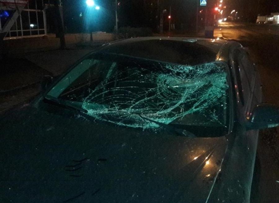 В Брянске на Литейной водитель сбил пьяного пешехода