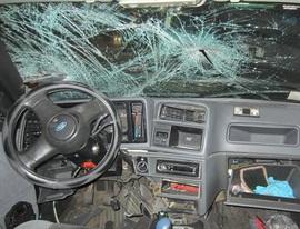 На брянской трассе иномарка протаранила «Газель» и грузовик