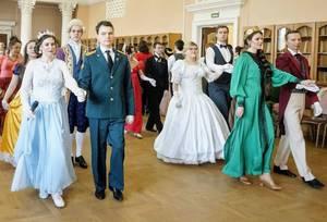 В Брянске состоялся Сретенский бал «Зимняя сказка»