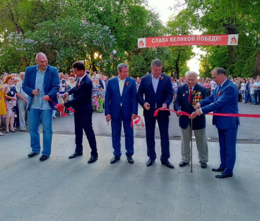 В Брянске открыли обновлённую лестницу к Набережной
