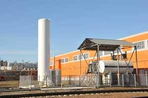 На БМЗ внедрена современная система подачи смеси защитных газов на сварочные посты