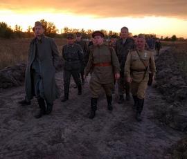 На старом аэропорту прошла репетиция реконструкции битвы за Брянск